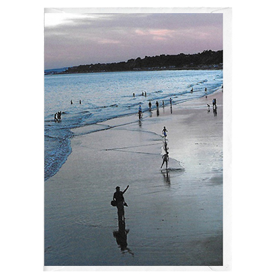 Evening Seashore - card