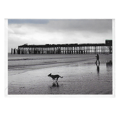 Card - Pier 2: Mud dash, Hastings Pier