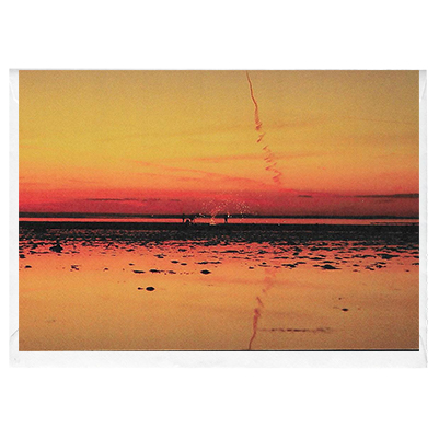 Catherine Wheel Sunset - card