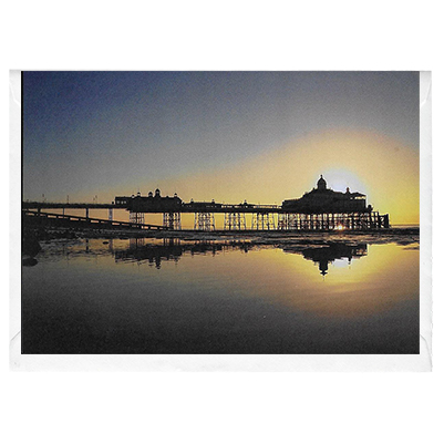 Sunrise over Eastbourne  - card